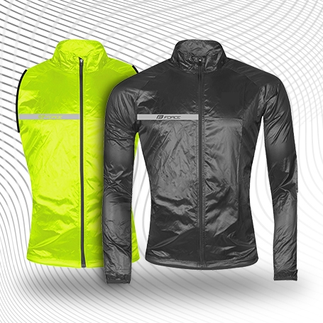 Vest and jackets WINDPRO