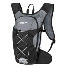 backpack FORCE ARON ACE 10 l, grey-black