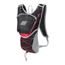 backpack FORCE TWIN 14 l, black-red