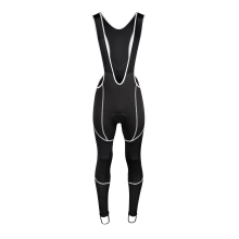 bibtights FORCE Z70 with pad, black