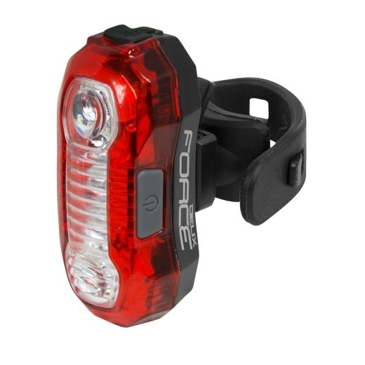 blikačka zadní FORCE DEUX 5 LED, USB