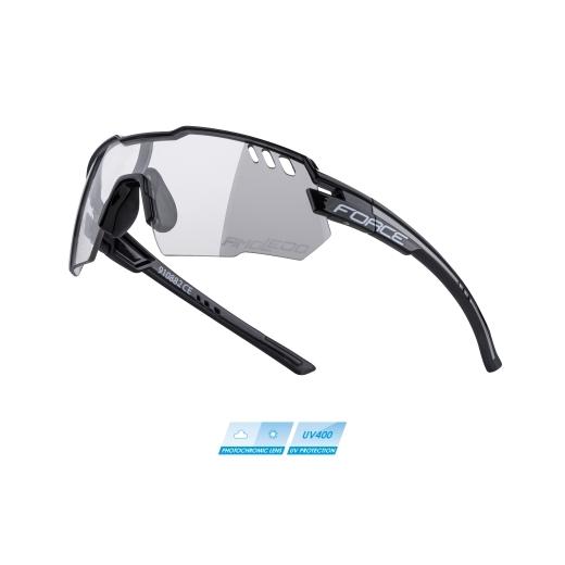 brýle F AMOLEDO, černo-šedé, fotochromatické skla