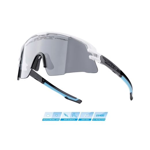 brýle FORCE AMBIENT,bílo-šedo-černé,fotochrom.skla