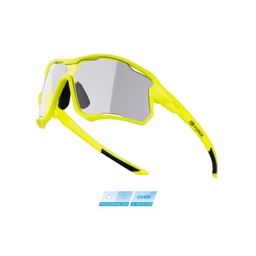 brýle FORCE EDIE, fluo, fotochromatické skla