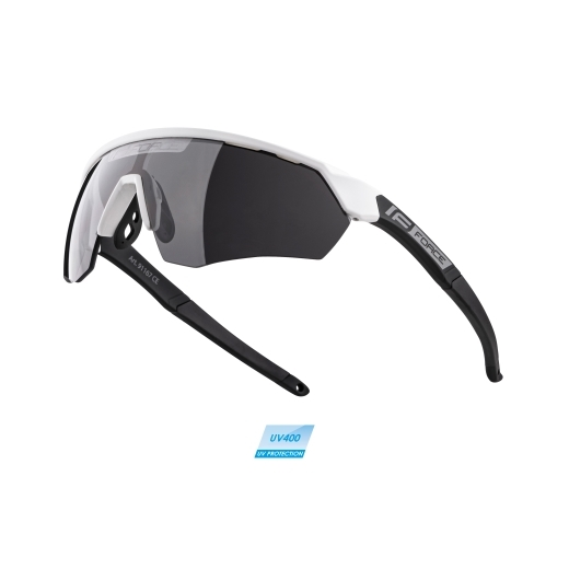 brýle FORCE ENIGMA bílo-černé mat., černá skla