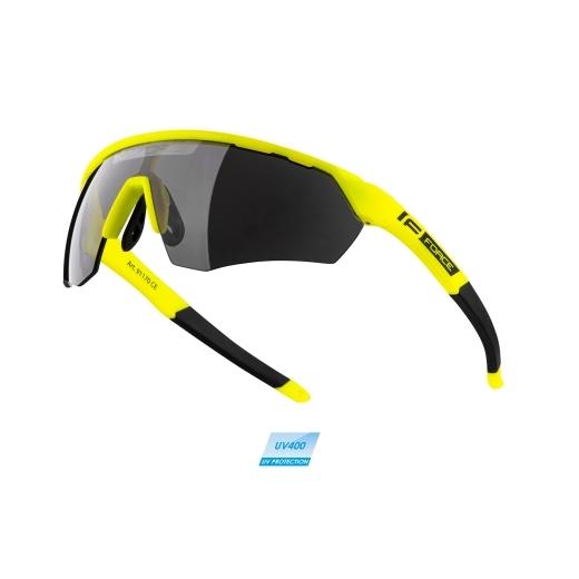 brýle FORCE ENIGMA fluo mat., černá skla