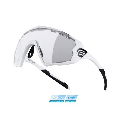brýle FORCE OMBRO bílé mat., fotochromatická skla