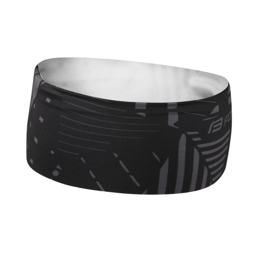 čelenka FORCE SHARD sportovní, černo-šedá UNI