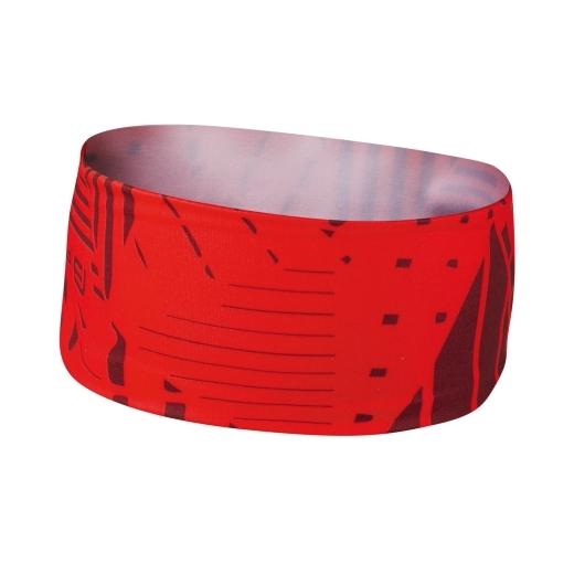 čelenka FORCE SHARD sportovní, červená UNI
