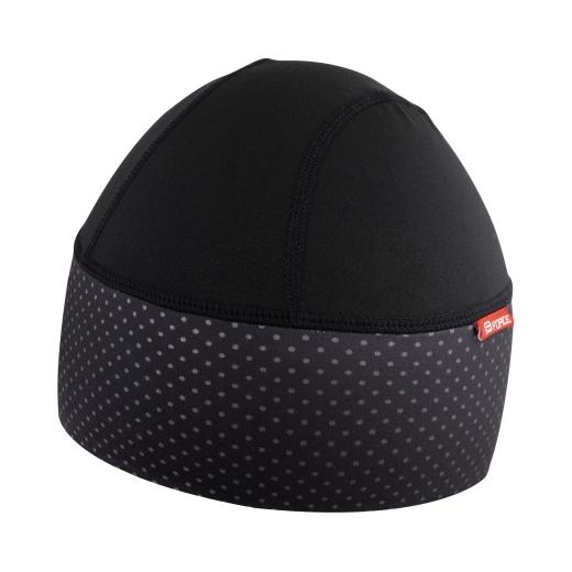 čepice pod přilbu F POINTS zateplená, černá