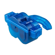 chain cleaner FORCE ECO plastic with handle, blue