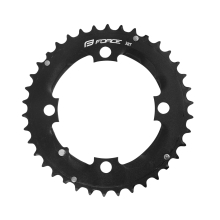 chain ring 38t AL, for crank FORCE TEN2.3+, black