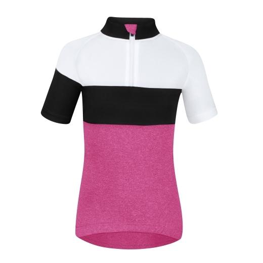 dres FORCE KID VIEW růžovo-bílo-černý