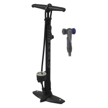 floor pump FORCE HOBBY Al 11 bar, black