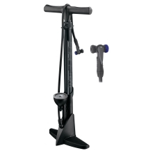 floor pump FORCE HORN plastic 11b black