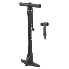 floor pump FORCE TOURIST plastic 11b black