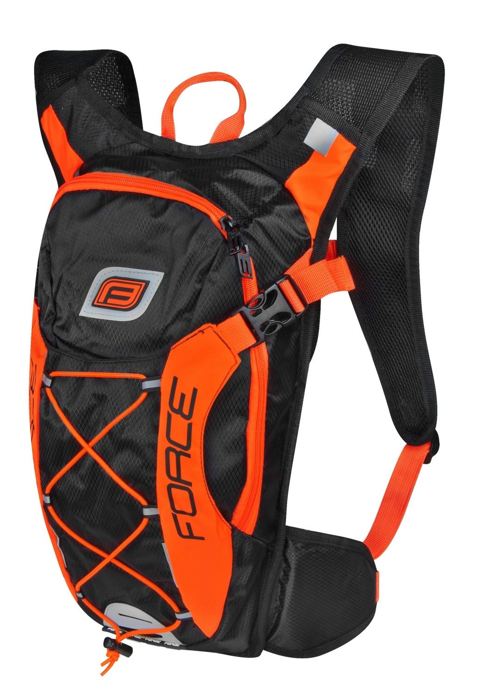 batoh FORCE ARON PRO 10 l, černo-oranžový