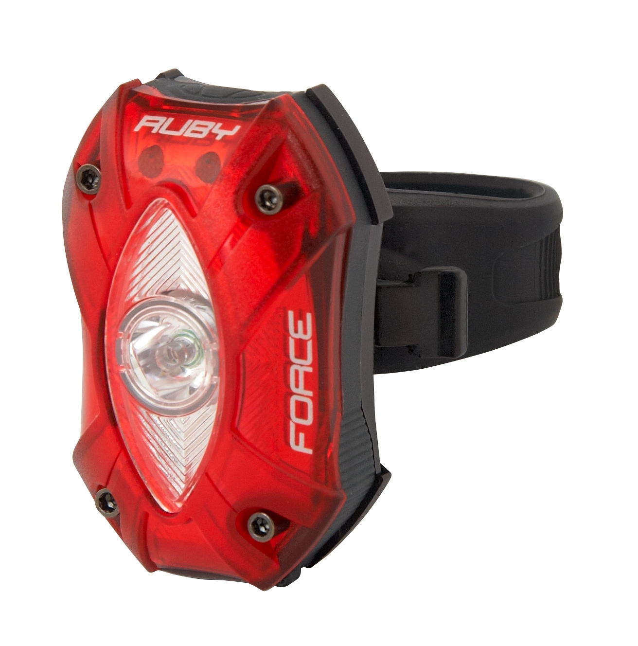 blikačka zadní FORCE RUBY 1 CREE LED, USB