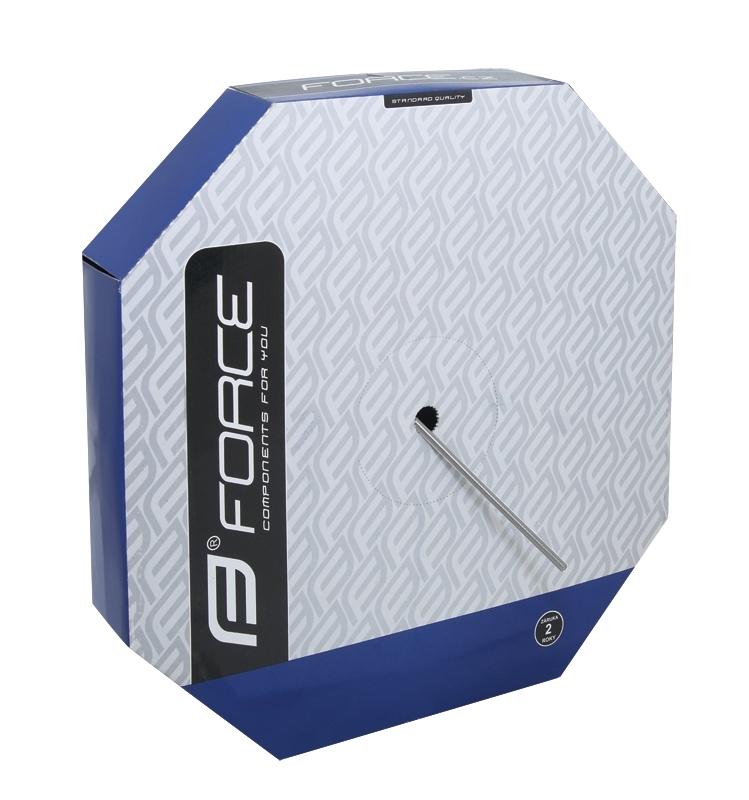 bowden řadící FORCE 4mm, stříbrný 50m BOX