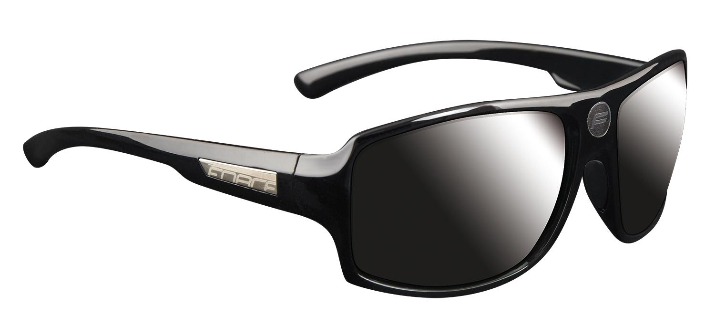 brýle FORCE BOSS černé, černá skla