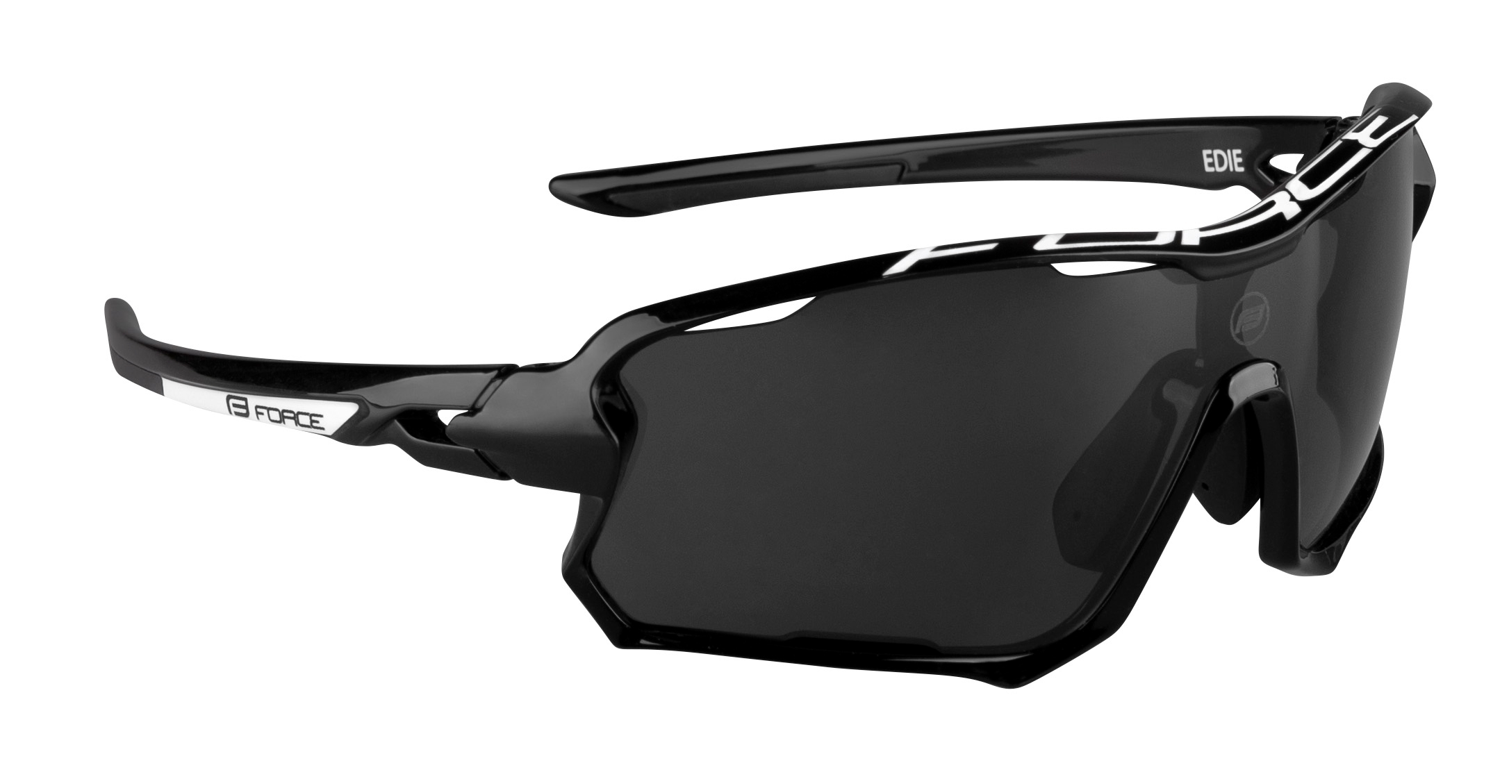 brýle FORCE EDIE, černo-šedé, černé skla