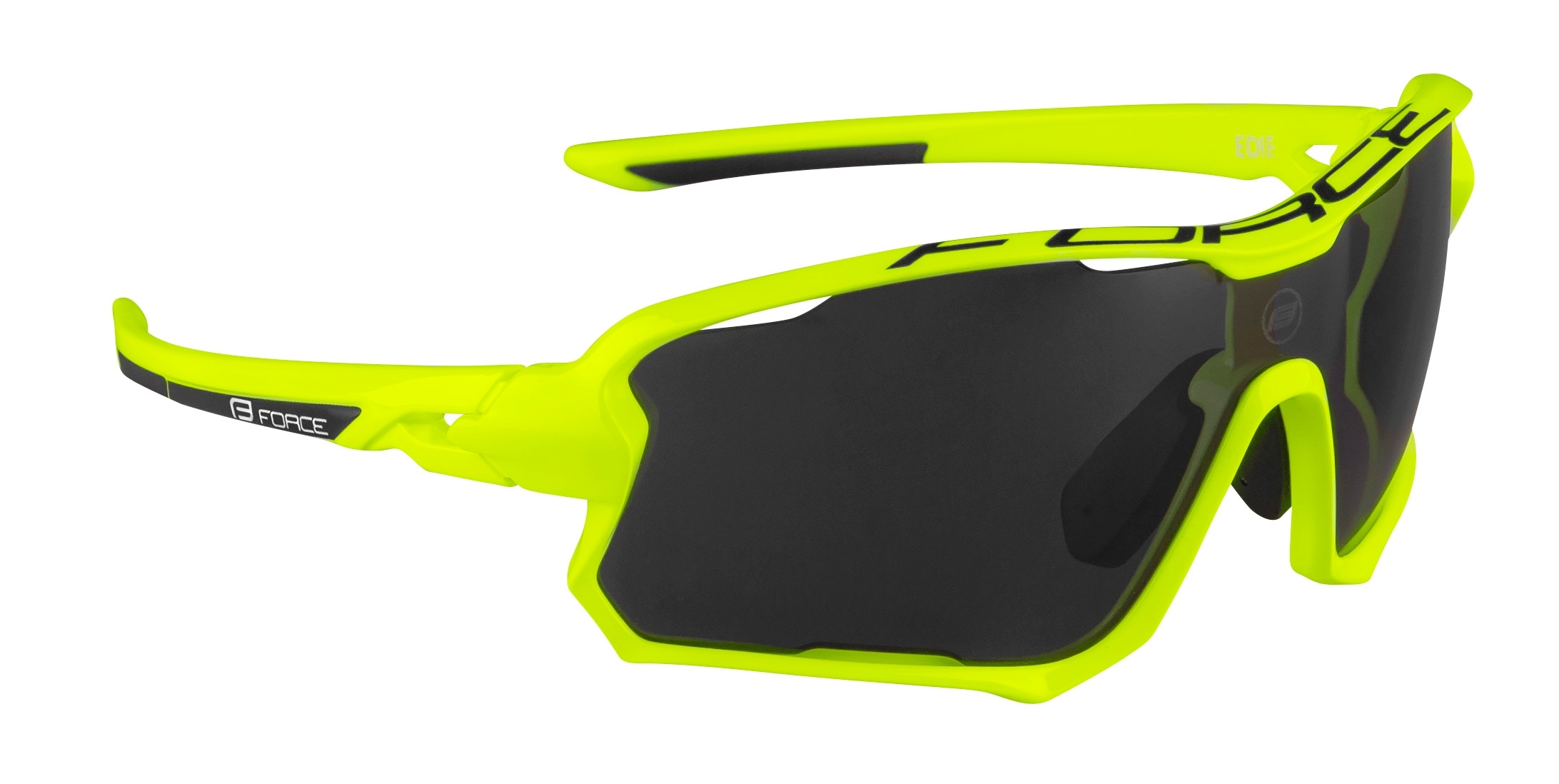 brýle FORCE EDIE, fluo-modré, černé skla