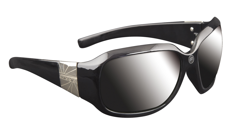 brýle FORCE MADAM černé, černá skla