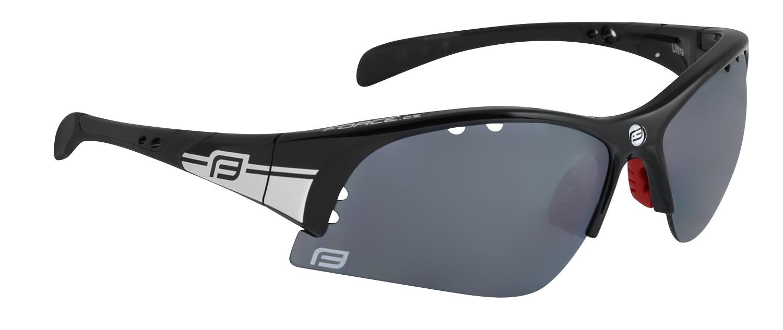 brýle FORCE ULTRA černé, černá laser skla 2018
