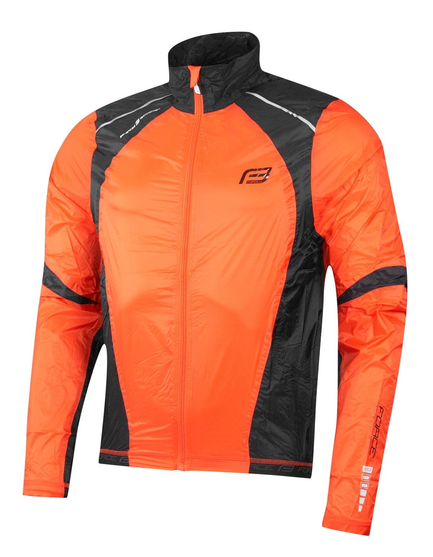 bunda FORCE X53 neprofuk, oranžovo-černá XL
