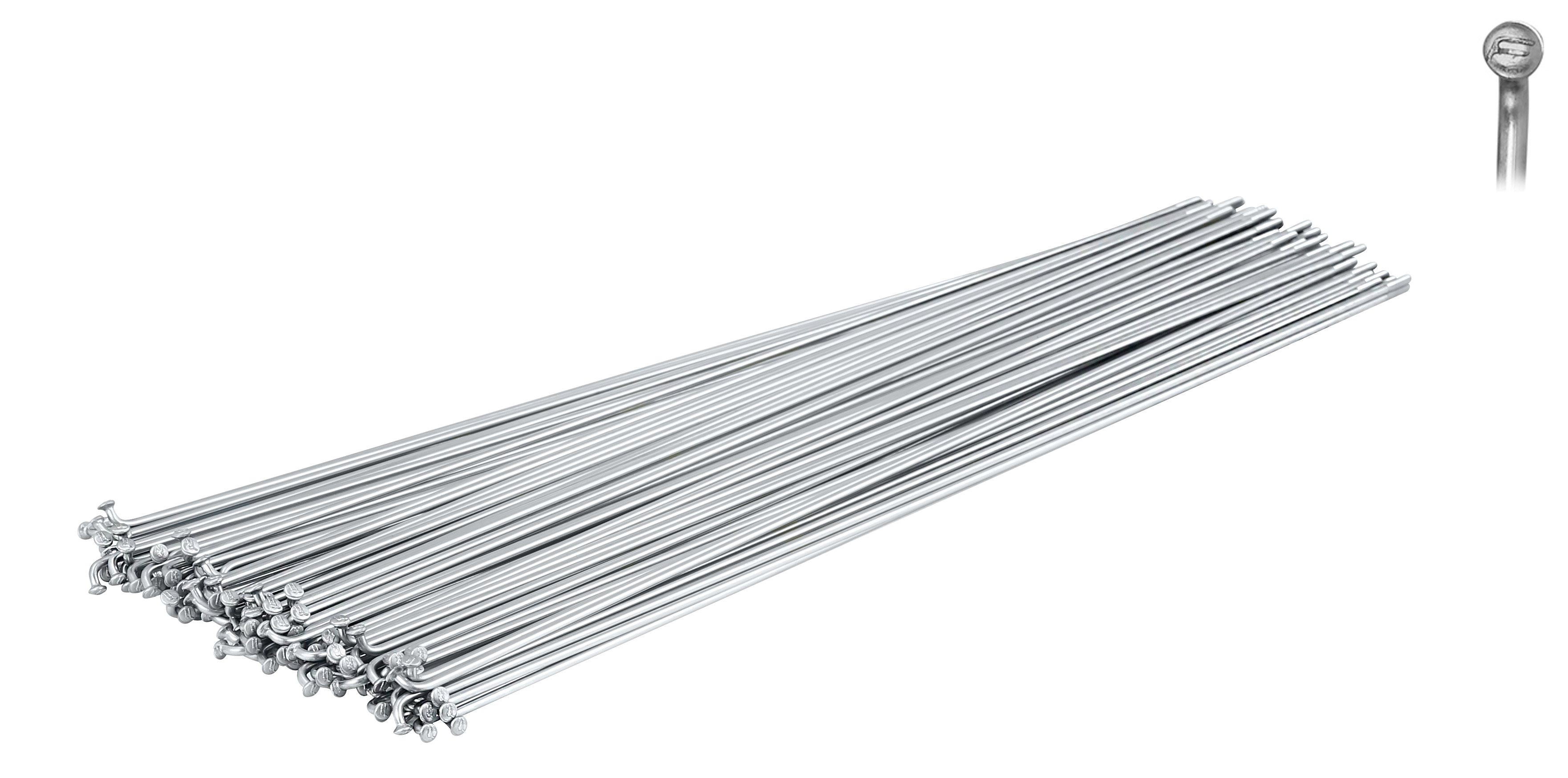 dráty FORCE nerez stříbrné 2 mm x 284 mm
