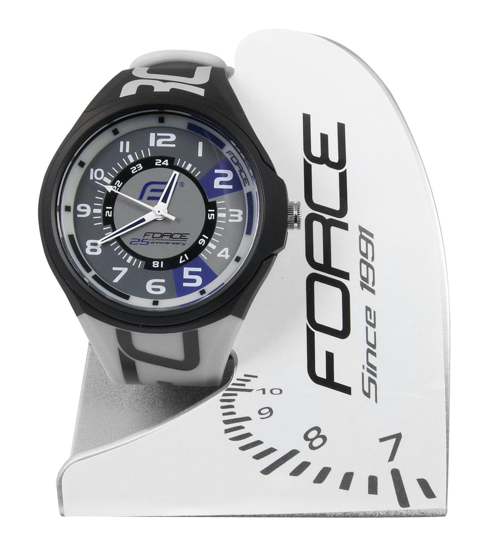 hodinky FORCE edice 25.výročí černo-šedé