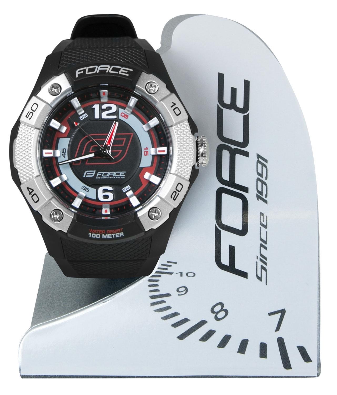 hodinky FORCE MAFIA, černo-červené