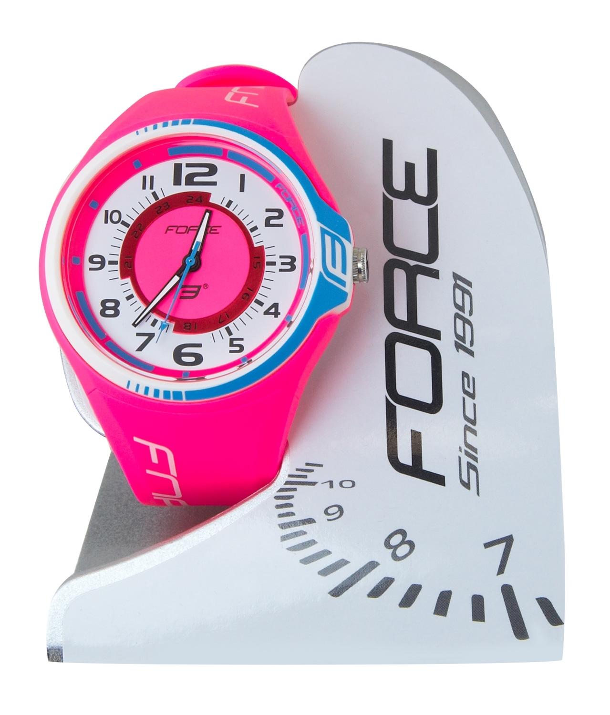 hodinky FORCE2 růžové 8dc6b06743