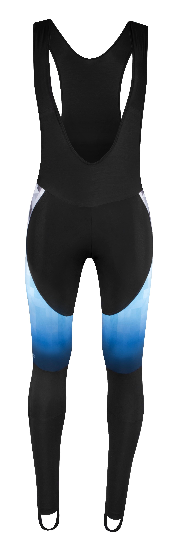 kalhoty F DAWN WIND bez vložky, černo-modré L