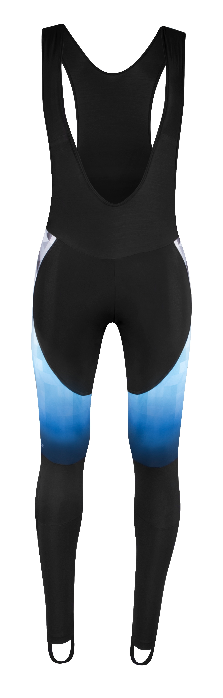 kalhoty F DAWN WIND bez vložky, černo-modré XXL