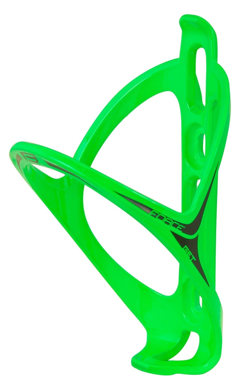 košík láhve FORCE GET plastový, zelený lesklý