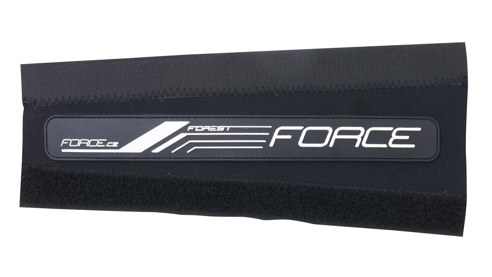 kryt pod řetěz FORCE FOREST neoprén 8 cm, černý