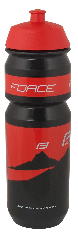 láhev FORCE HILL 0,75 l, černo-červená