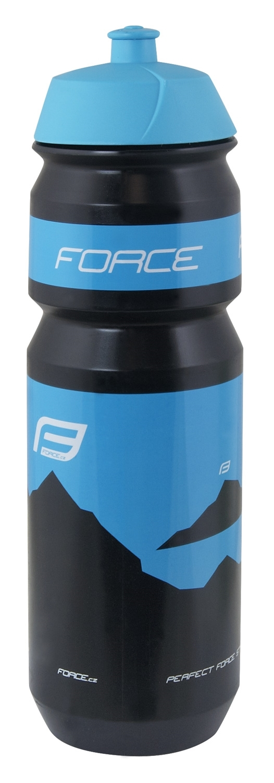 láhev FORCE HILL 0,75 l, černo-modrá