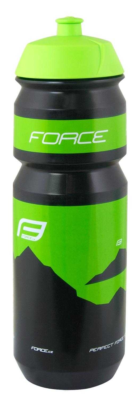 láhev FORCE HILL 0,75 l, černo-zelená