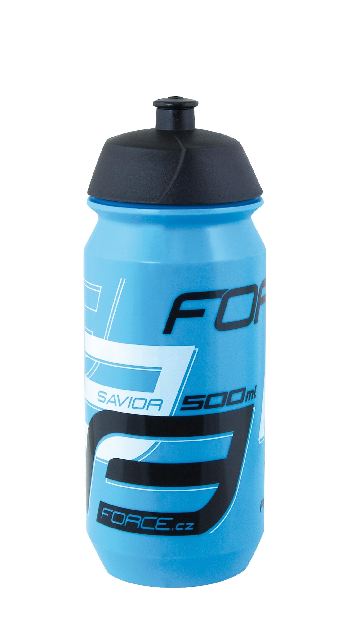 láhev FORCE SAVIOR 0,5 l, modro-bílo-černá