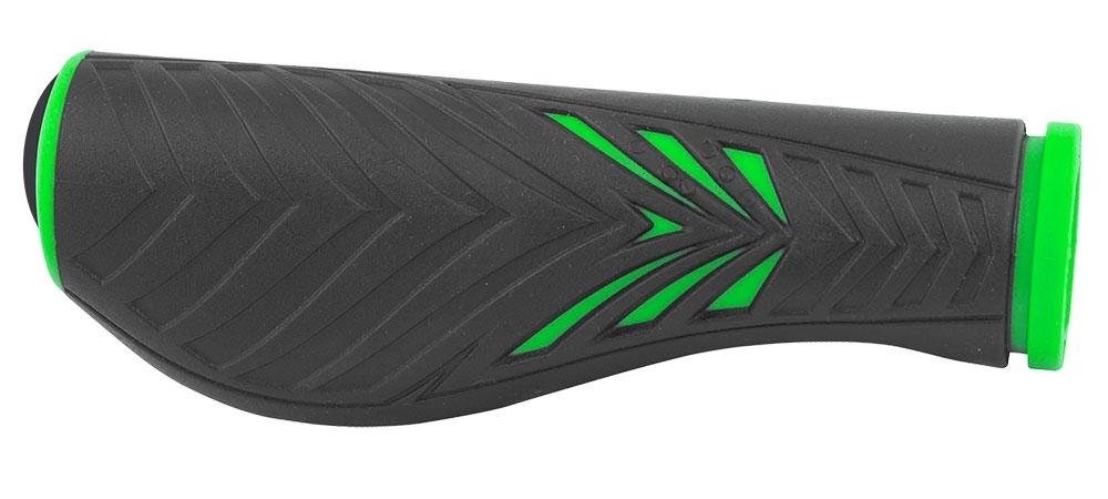 madla FORCE ERGO gumová, černo-zelená, balená
