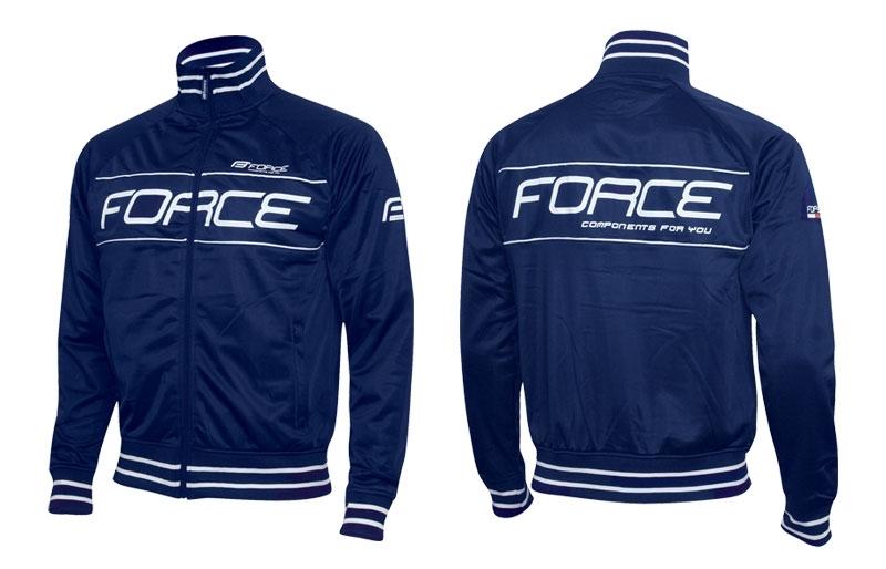 mikina FORCE modrá