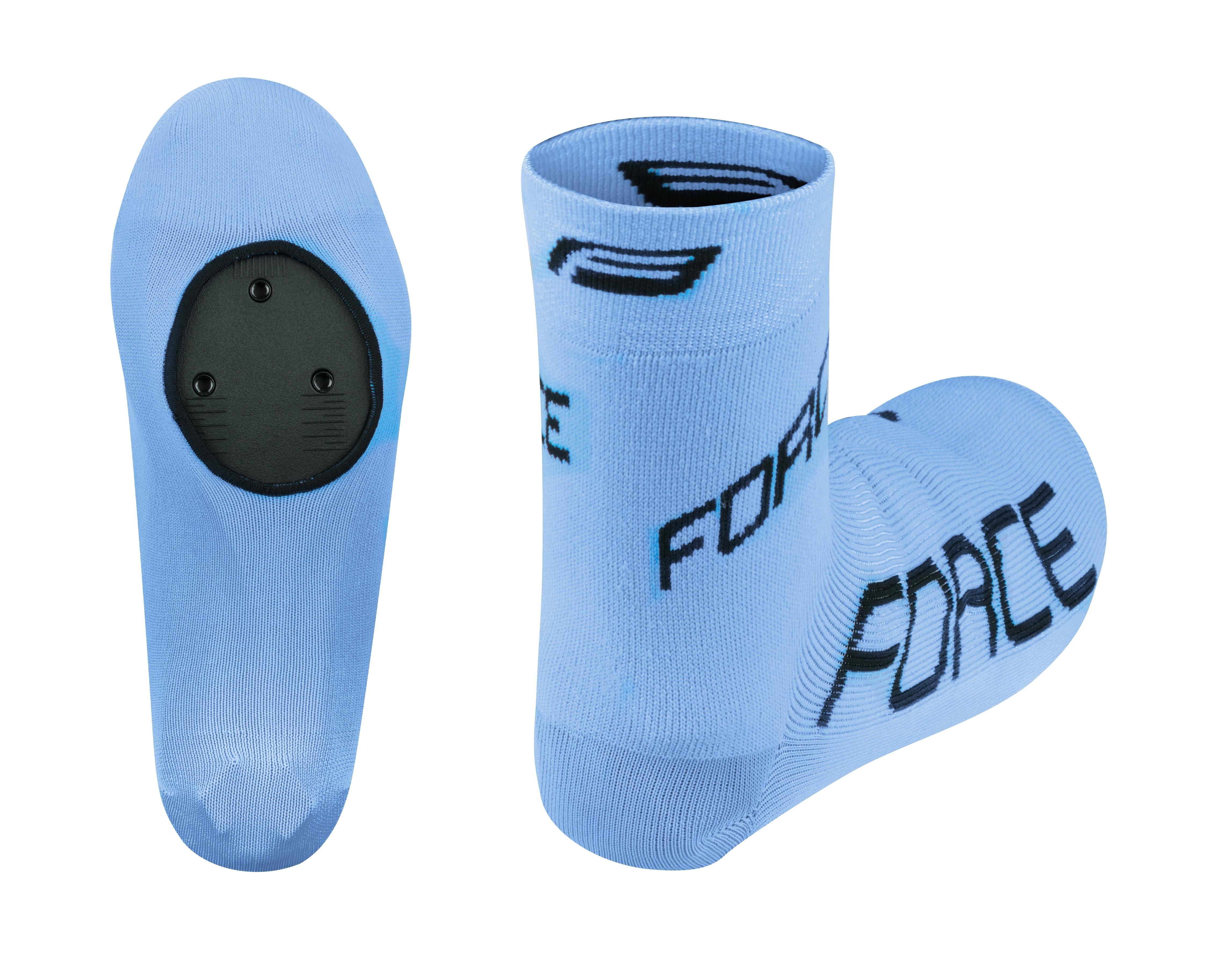 návleky treter FORCE pletené, modré S - M