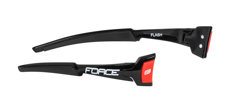 nožičky FORCE FLASH,černo-červené, náhradní díl