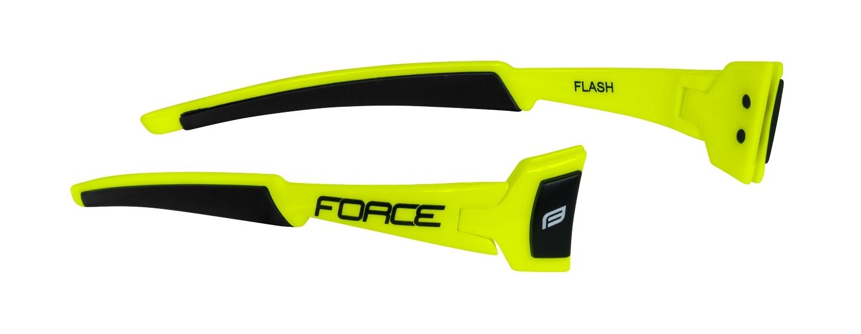 nožičky FORCE FLASH,fluo-černé, náhradní díl