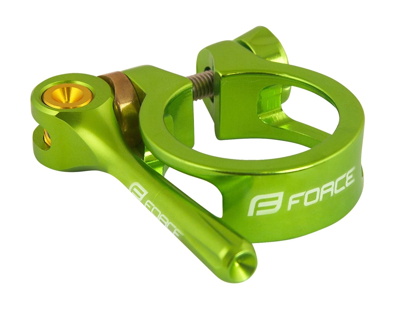 objímka sedlovky FORCE s RÚ 34,9mm Al, zelená