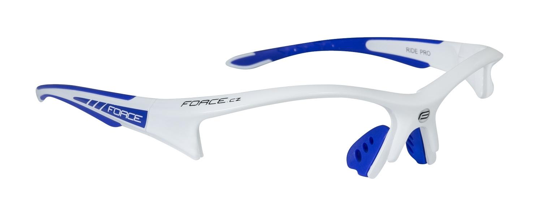 obroučky F RIDE PRO bílo-modré - náhradní díl