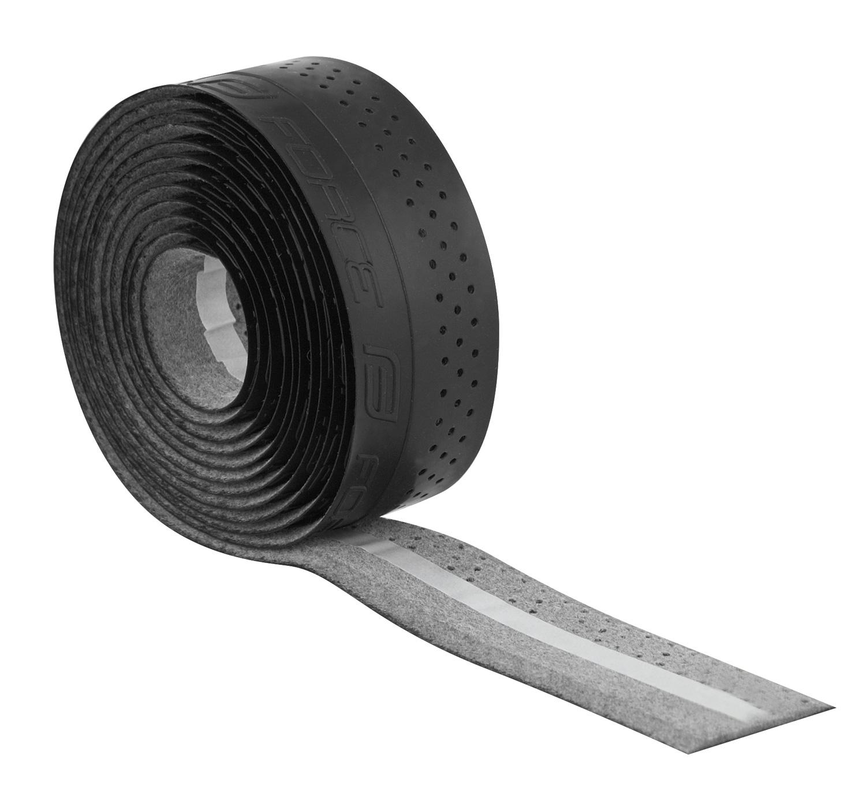 omotávky FORCE PU s vytláčeným logem, černá