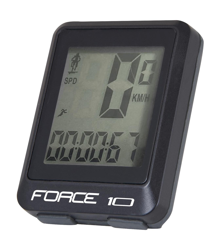 počítač FORCE 10 funkcí, drát, černý